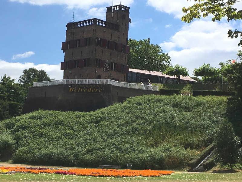 Belvédère bij Hunnerpark in Nijmegen