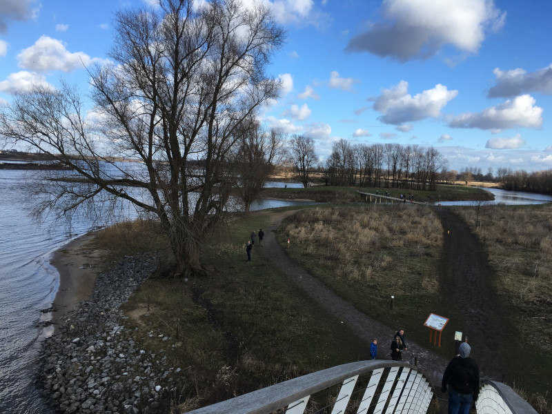 boogbrug van Nijmegen naar Ooijpolder