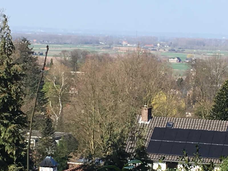 Uitzicht vanaf Westerbergweg naar de Ooijpolder
