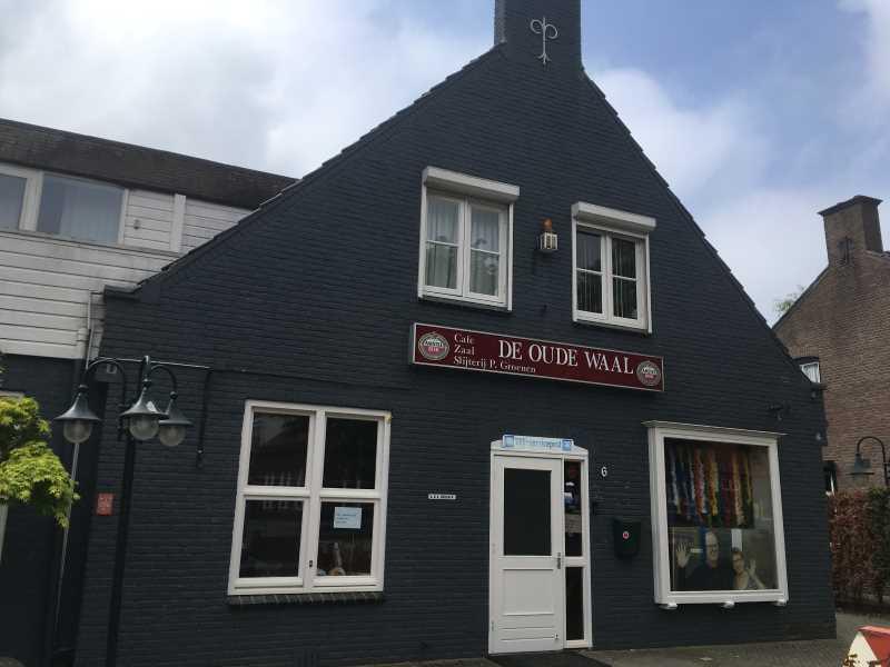 Wandelroute Pannerden restaurant de oude Waal